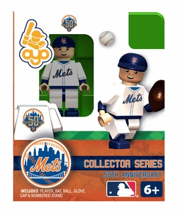 OYO Baseball MLB Building Brick Minifigure 2012 Home NY Mets [New York Mets]