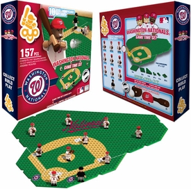 OYO Baseball MLB Generation 1 Team Field Game Time Set Washington Nationals