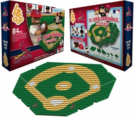 OYO Baseball MLB Generation 1 Team Field Infield Set St. Louis Cardinals