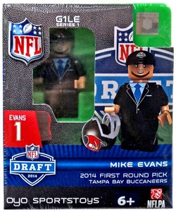 OYO Football NFL 2014 Draft First Round Picks Building Brick Minifigure Mike Evans [Tampa Bay Buccaneers]