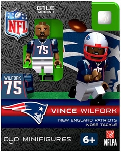 OYO Football NFL Building Brick Minifigure LeGarrette Blount [New England Patriots]