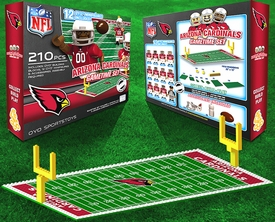 OYO Football NFL Generation 1 Team Field Gametime Set Arizona Cardinals New!