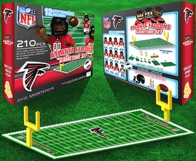OYO Football NFL Generation 1 Team Field Gametime Set Atlanta Falcons