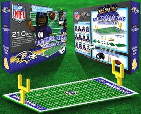 OYO Football NFL Generation 1 Team Field Gametime Set Baltimore Ravens Pre-Order ships April