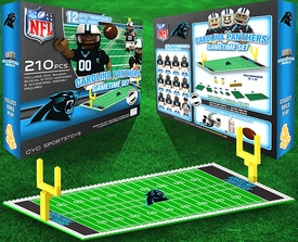 OYO Football NFL Generation 1 Team Field Gametime Set Carolina Panthers