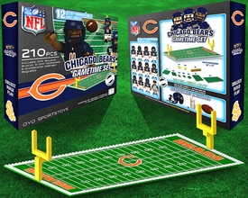 OYO Football NFL Generation 1 Team Field Gametime Set Chicago Bears Pre-Order ships April