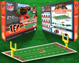 OYO Football NFL Generation 1 Team Field Gametime Set Cincinnati Bengals