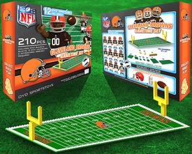 OYO Football NFL Generation 1 Team Field Gametime Set Cleveland Browns Pre-Order ships March