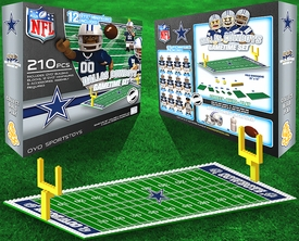 OYO Football NFL Generation 1 Team Field Gametime Set Dallas Cowboys New!