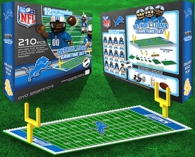 OYO Football NFL Generation 1 Team Field Gametime Set Detroit Lions New!