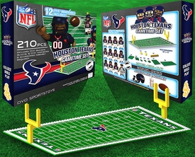 OYO Football NFL Generation 1 Team Field Gametime Set Houston Texans New!