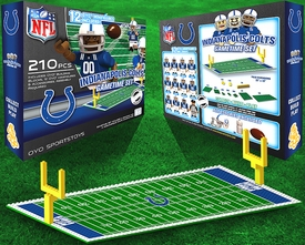 OYO Football NFL Generation 1 Team Field Gametime Set Indianapolis Colts