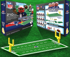 OYO Football NFL Generation 1 Team Field Gametime Set New England Patriots