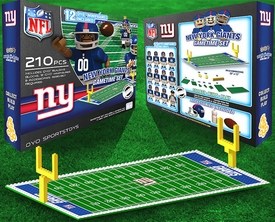 OYO Football NFL Generation 1 Team Field Gametime Set New York Giants New!