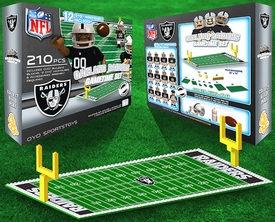 OYO Football NFL Generation 1 Team Field Gametime Set Oakland Raiders