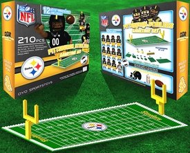 OYO Football NFL Generation 1 Team Field Gametime Set Pittsburgh Steelers New!