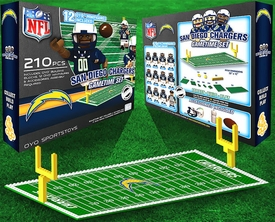 OYO Football NFL Generation 1 Team Field Gametime Set San Diego Chargers Pre-Order ships April