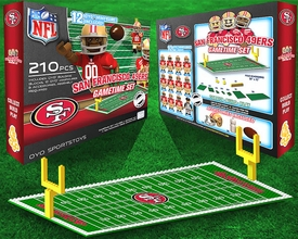 OYO Football NFL Generation 1 Team Field Gametime Set San Fransisco 49ers New!