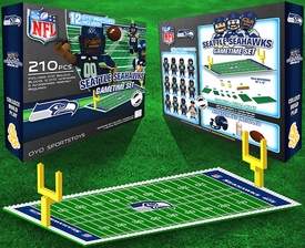 OYO Football NFL Generation 1 Team Field Gametime Set Seattle Seahawks