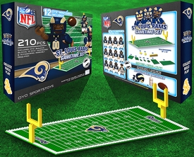 OYO Football NFL Generation 1 Team Field Gametime Set St. Luis Rams Pre-Order ships April