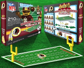 OYO Football NFL Generation 1 Team Field Gametime Set Washington Redskins