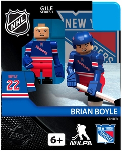 OYO Hockey NHL Building Brick Minifigure Brian Boyle [New York Rangers]