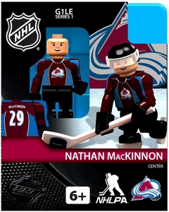 OYO Hockey NHL Building Brick Minifigure Nathan MacKinnon [Colorado Avalanche]