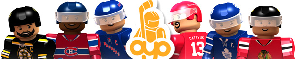 OYO Hockey Minifigures Montreal Canadiens