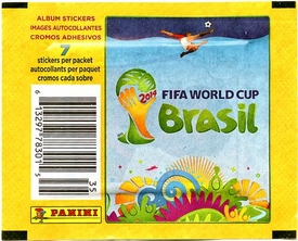 Panini 2014 FIFA World Cup Brazil Sticker Pack [7 Stickers]
