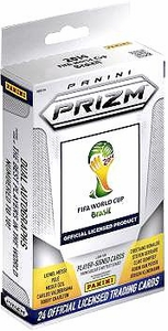 Panini 2014 FIFA World Cup Brazil PRIZM Trading Card Hanger [24 Cards]
