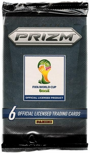 Panini 2014 FIFA World Cup Brazil Prizm Trading Card Pack