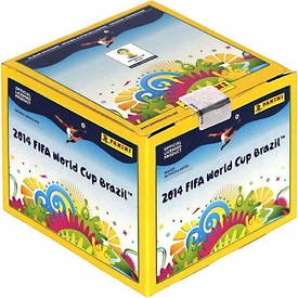 Panini 2014 FIFA World Cup Brazil Sticker Box [50 Packs]