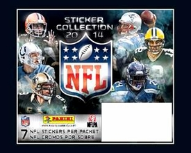 Panini NFL Football 2014 Sticker Collection Box [50 Packs of 7 Stickers] Pre-Order ships July