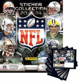 Panini NFL Football 2014 Sticker Collection Set [Album + 6 Packs] Pre-Order ships July
