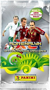 Panini Road To 2014 FIFA World Cup Brazil Adrenalyn XL Booster Pack