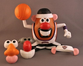Phoenix Suns Mr. Potato Head NBA Sports Spuds Damaged Package, Mint Contents!