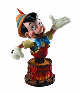 Pinocchio Grand Jester Mini-Bust Pinocchio New!