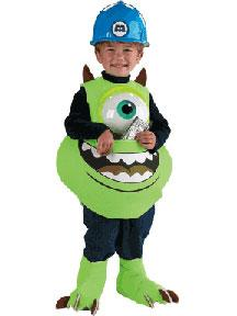 Pixar Monsters Inc. #5583 Mike Candy Catcher [Toddler Up To Size 6]