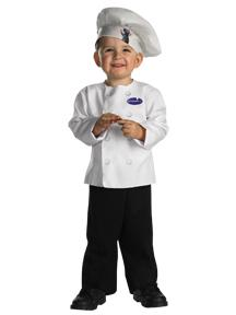 Pixar's Ratatouille #6654M Linguini Chef and Remi Costume (Toddler 3T-4T)