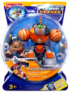 Planet Heroes Deluxe Action Figure Jupiter Gustus