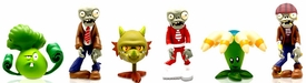 Plants vs Zombies 2 Inch Figure 6-Pack Bonk Choy, Snapdragon, Bloomerang, Regular Zombie, Pirate Zombie & Space Zombie Pre-Order ships August