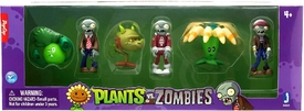 Plants vs Zombies 2 Inch Figure 6-Pack Bonk Choy, Snapdragon, Bloomerang, Regular Zombie, Pirate Zombie & Space Zombie Pre-Order ships October