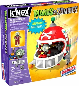 Plants Vs. Zombies K'NEX Set #53488 Football Mech New!