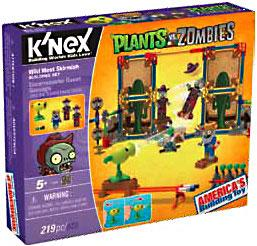 Plants Vs. Zombies K'NEX Set Wild West Pre-Order ships August
