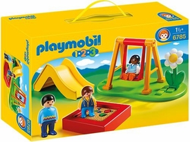 Playmobil 1.2.3 Set #6785 Park Playground