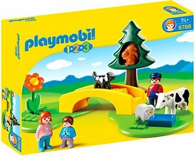 Playmobil 1.2.3 Set #6788 Meadow Path