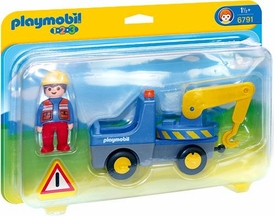 Playmobil 1.2.3 Set #6791 Tow Truck