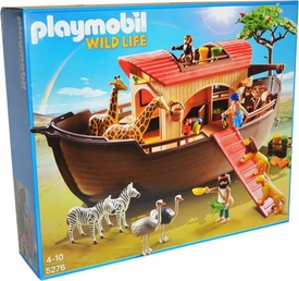 Playmobil African Wild Life Set #5276 Animal Ark New!