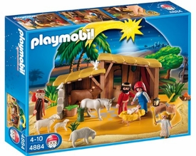 Playmobil Christmas Set #4884 Nativity Manger with Stable
