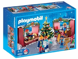 Playmobil Set #4891 Christmas Market